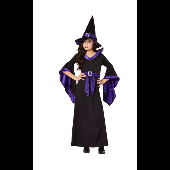 Costumes Kids Witch Costume Dress And Hat Poshmark